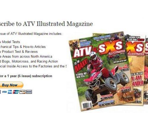 SUSCRIBETE A LA REVISTA ATV ILUSTRATED