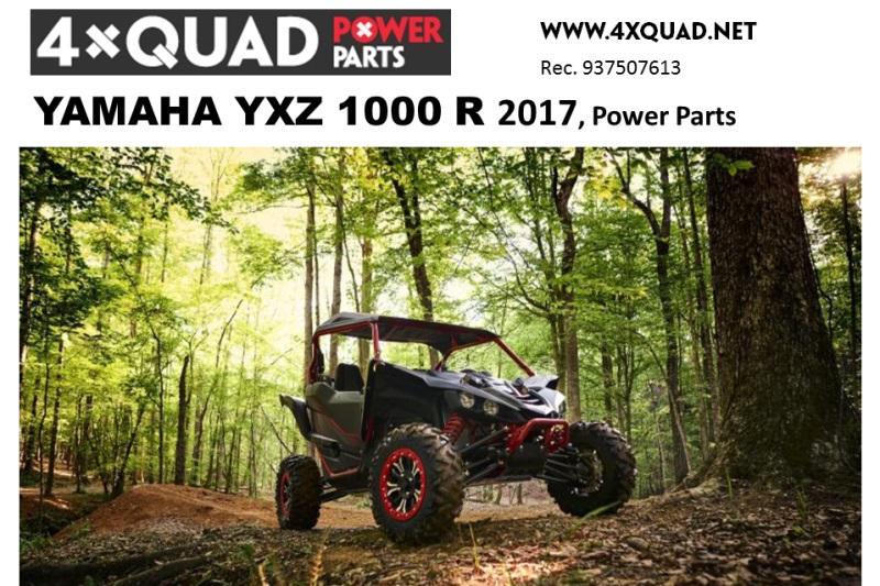 Nuevos accesorios para YAMAHA YXZ1000R 2017