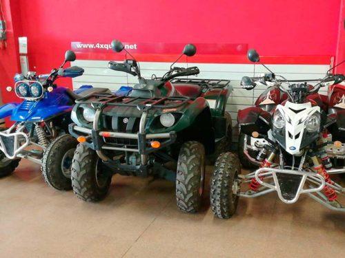 Quads, ATV, Side by Side y remolques de ocasión