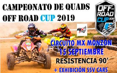TERCERA CARRERA DEL CAMPEONATO OFF ROAD CUP 2019