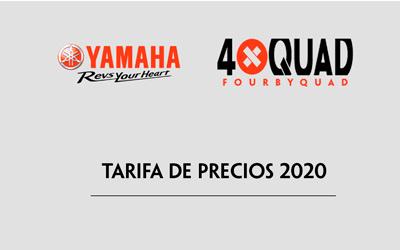 NUEVA TARIFA DE PRECIOS 2020